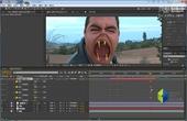 AE教程-初级跟踪变形之魔鬼的脸-源自AK的教程